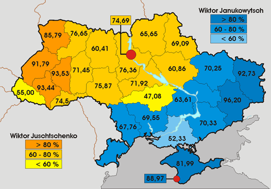Electoral Breakdown of Ukraine-2004 [2]