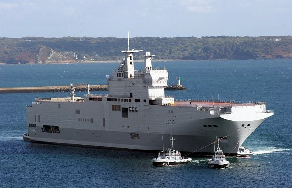 French Mistral LHD. (Wikipedia Commons)