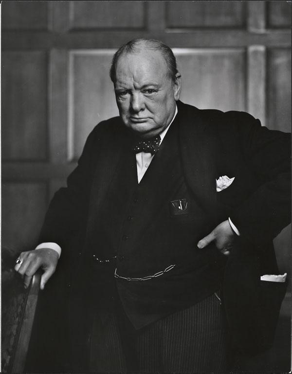Sir Winston Churchill (Wikimedia)