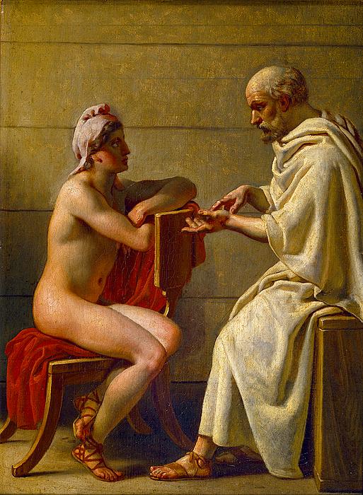 Socrates and Alcibiades by Christoffer Wilhelm Eckersberg (Wikimedia)