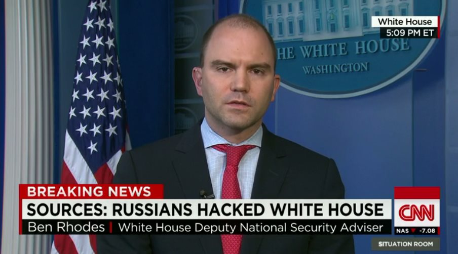 Russian government suspected in cyber attacks on White House and U.S. State Department Systems (CNN.com)
