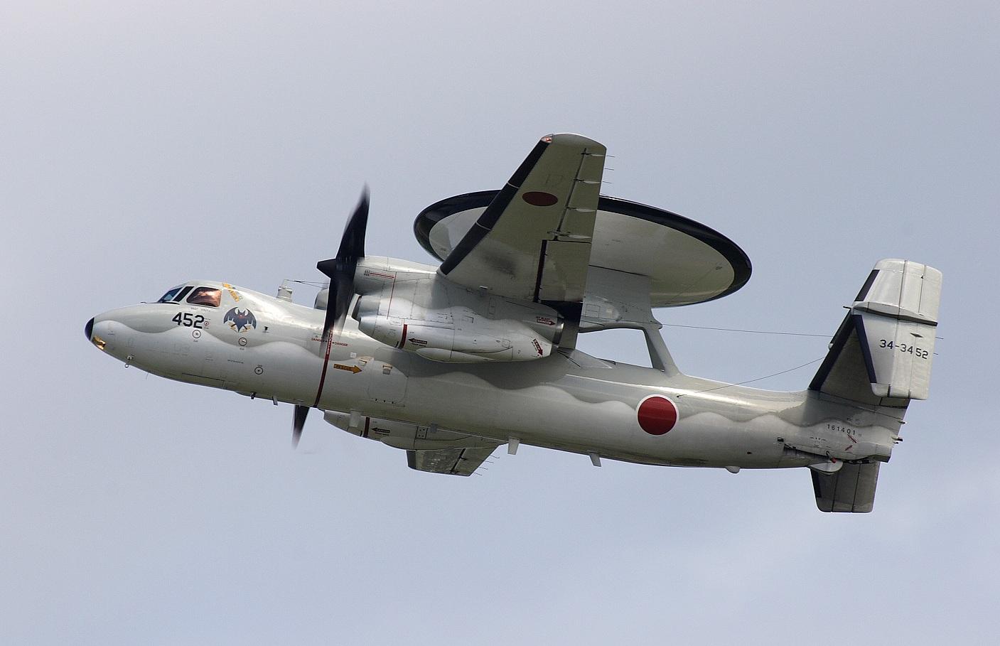 Japanese E-2C Hawkeye (JASDF Photo)