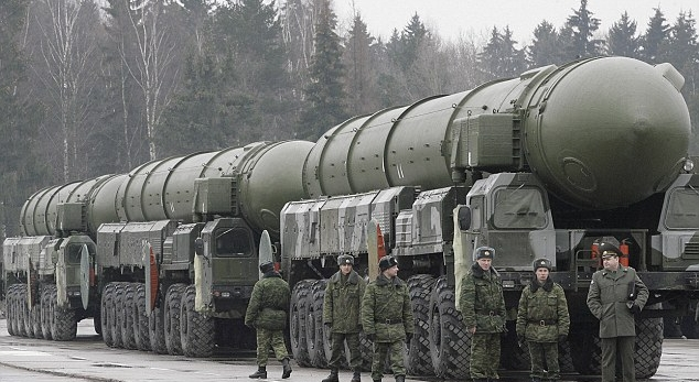 Russian mobile ICBMs. (AFP/Getty Images)