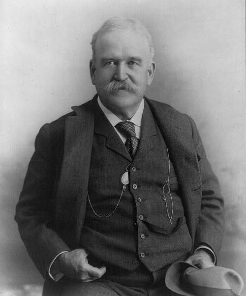 John Davis Long, United States Secretary of the Navy from 1987-1902. (William Taylor/Wikimedia)