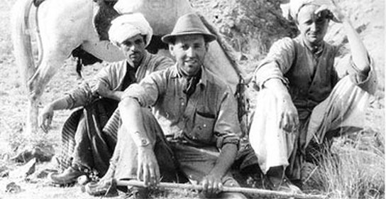 Eric Newby and local guides from his 1956 expedition into Nuristan (Lonely Planet)
