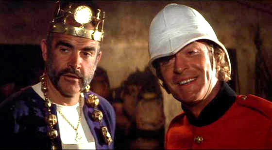 Sean Connery and Michael Caine in The Man Who Would Be King (IMDB.com)