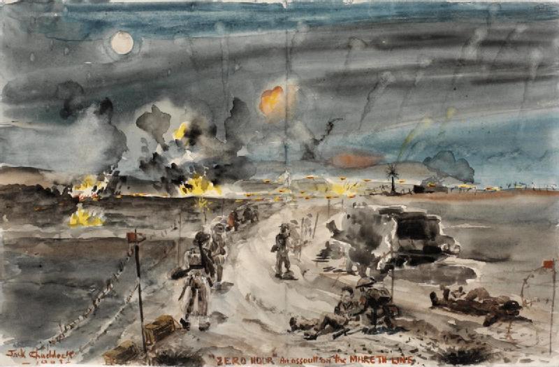 Zero Hour: The Mareth Offensive, 1943. Cameron Highlanders (Jack Chaddock/Wikimedia)
