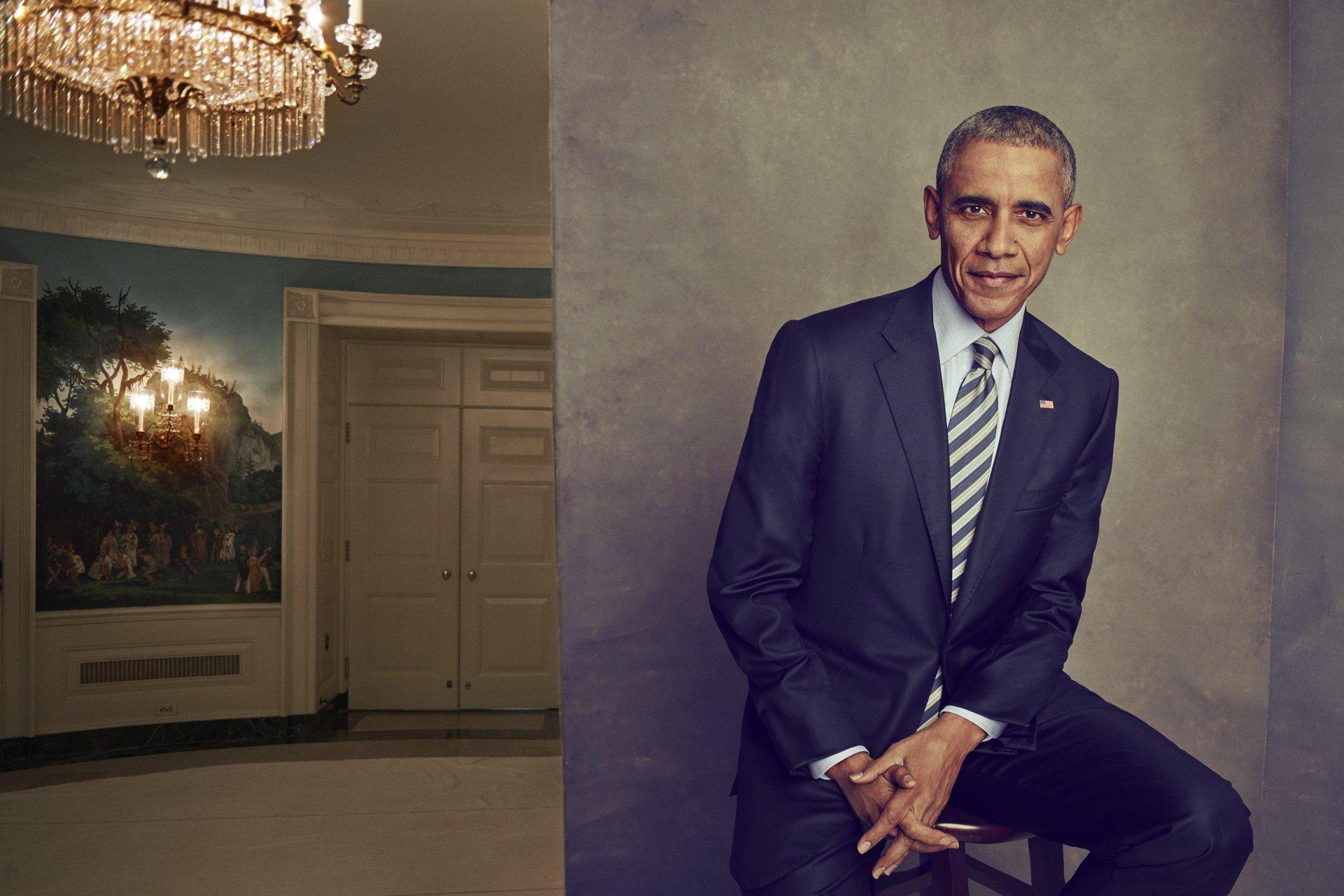 President Barak Obama (Ruven Afanador/The Atlantic)