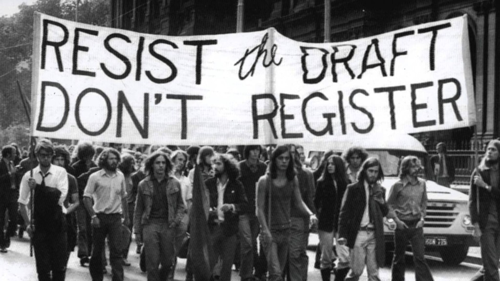 Protesting the draft during the Vietnam War (We Are The Mighty)