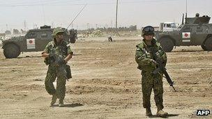 Japan's military sent personnel to Iraq after the 2003 invasion | AFP