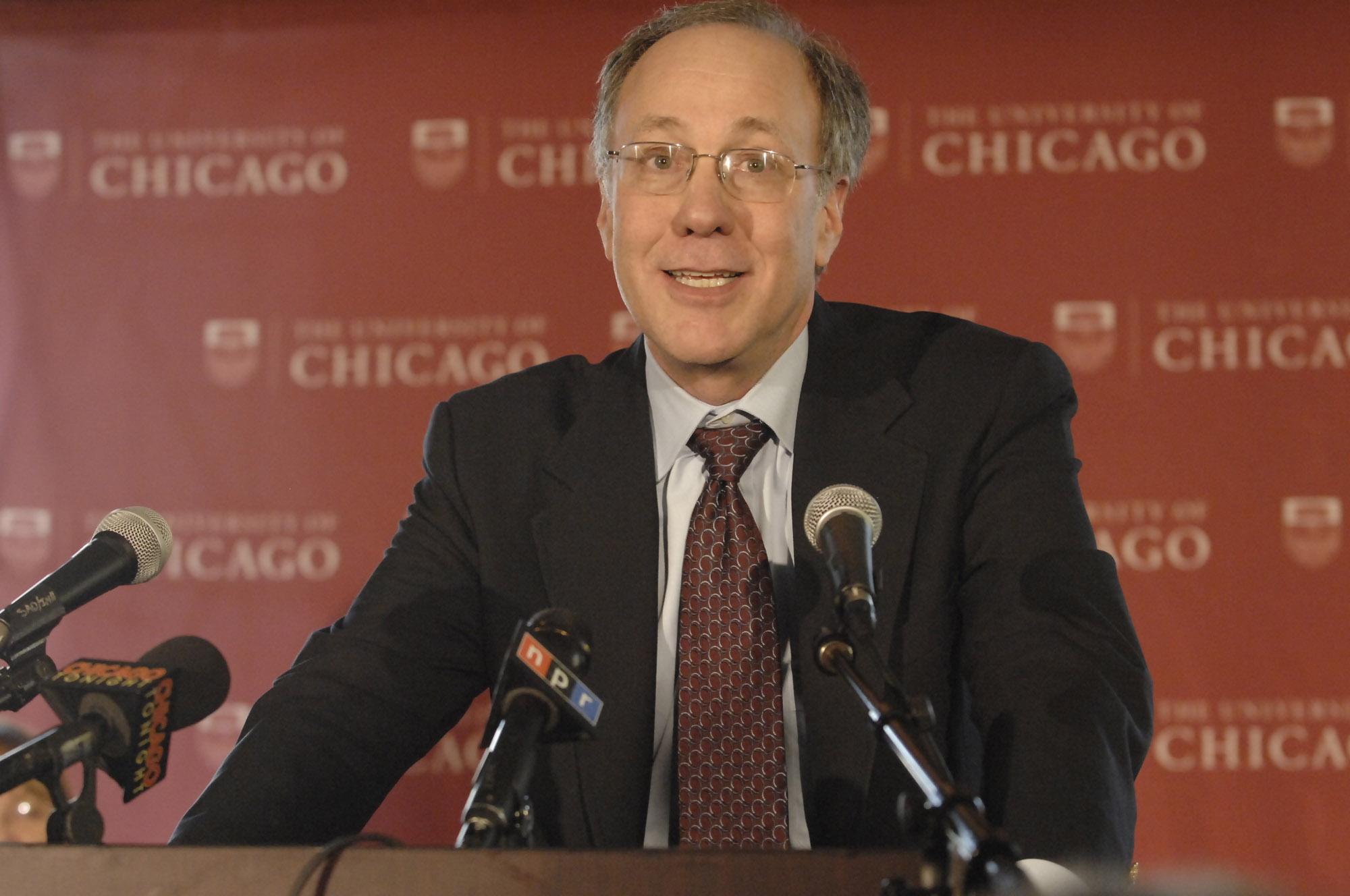 Roger Myerson wins Nobel Memorial Prize in Economics, 15 Oct 2007 |Lloyd DeGrane