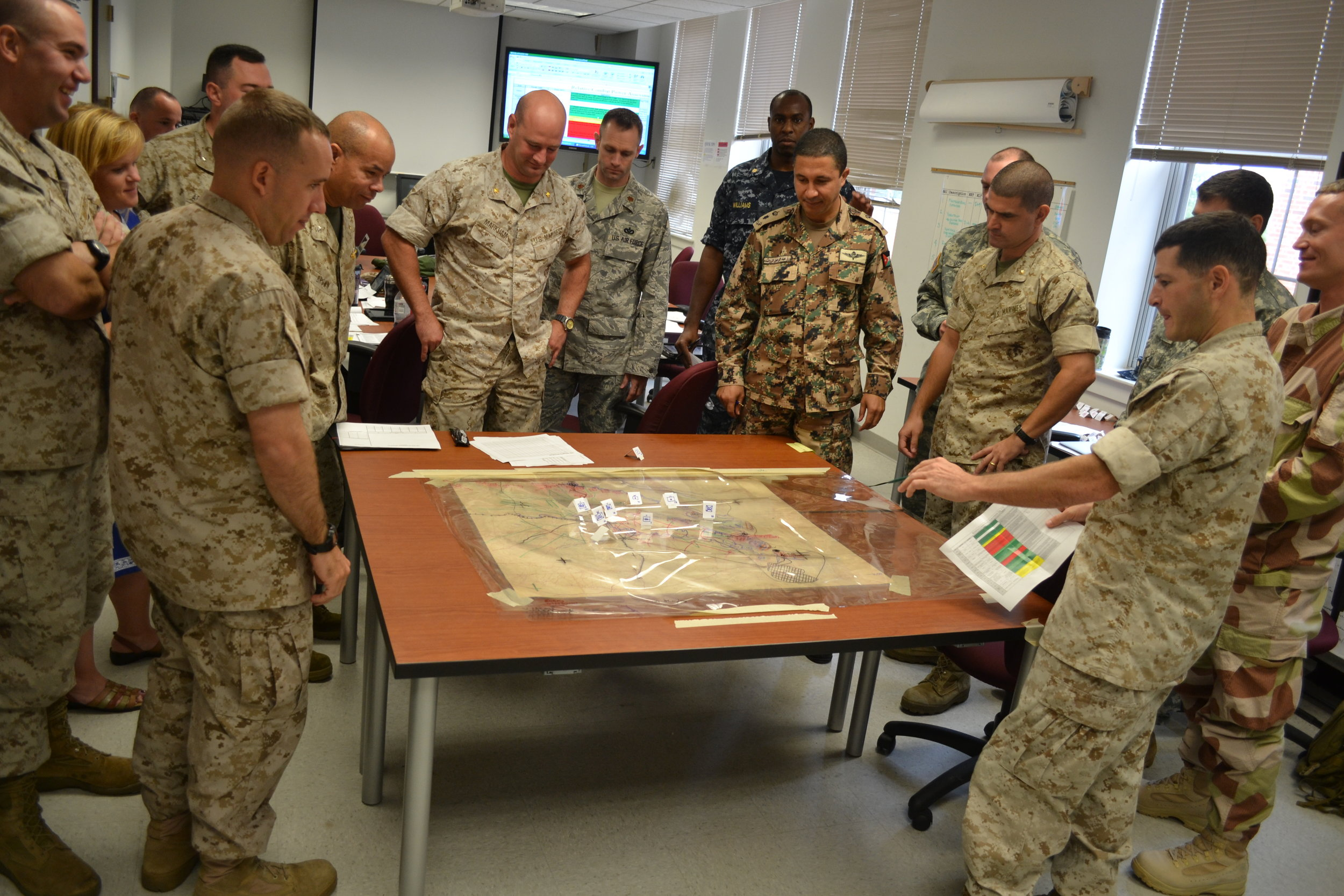 Marine Corps Command and Staff College Utilizes High-Resolution Images from Digitization Projects Group for Officer Training | Lt. Col. Shawn Callahan