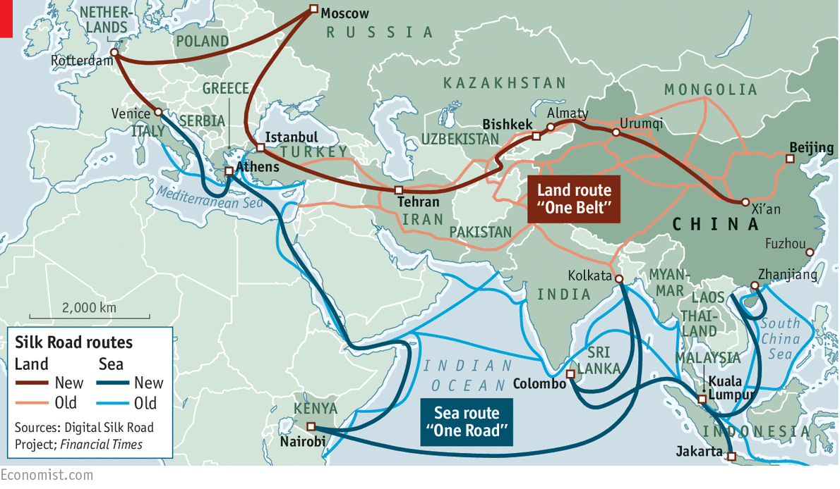 China's One Belt, One Road | The Economist