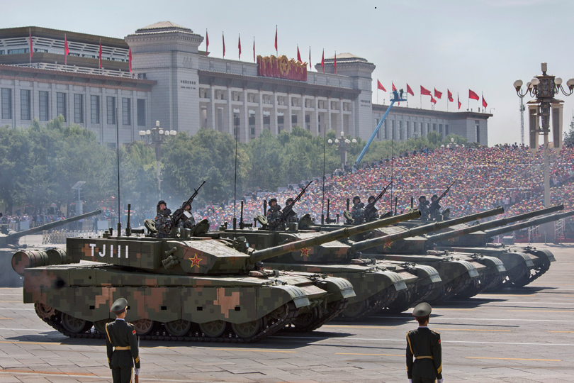 People's Liberation Army (Getty Images)