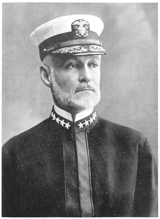 Rear-Admiral William Sowden Sims, U.S.N. (From The Life of Admiral Hahan, Charles Carlisle Taylor/Wikimedia)