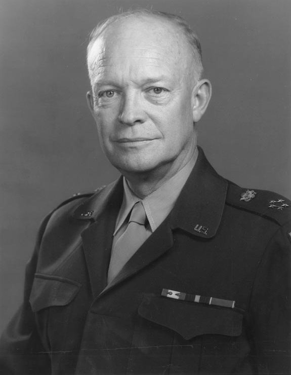 """""""Public opinion wins wars..."""" Dwight D. Eisenhower, to the American Newspaper Publishers' Association, as quoted in the  Prescott Evening Courier, May 4, 1944, edition ."""