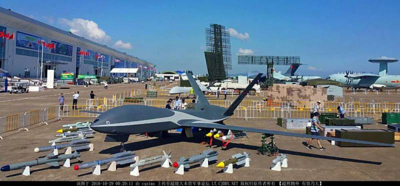 Cloud Shadow UAV drone, Zhuhai China, 2016
