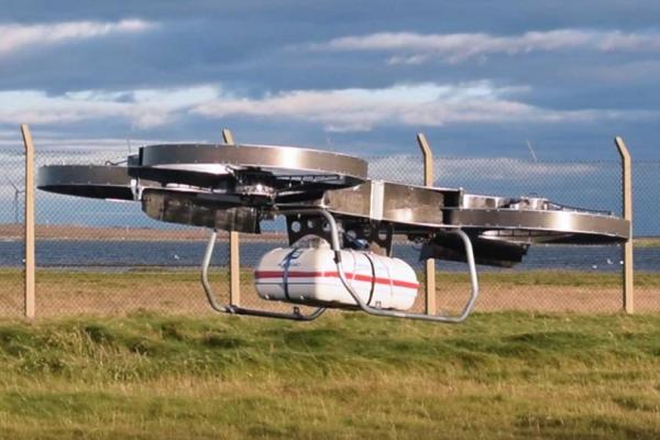 The Joint Tactical Aerial Resupply Vehicle (JTARV) concept that could be used to resupply troops on the battlefield. ( Malloy Aeronautics )