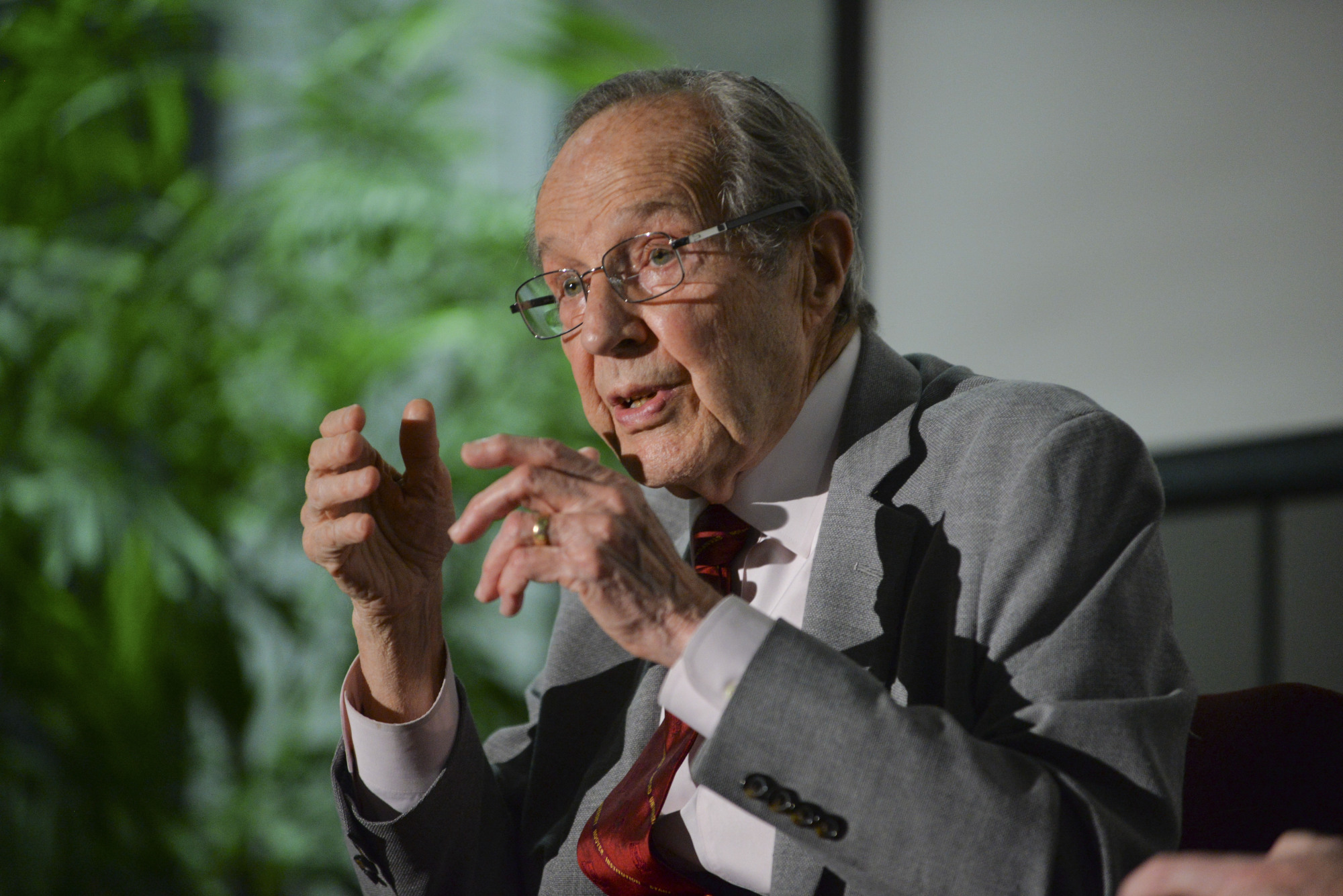 """""""We must deal with North Korea as it is, not as we wish it to be."""" Former Secretary of Defense William Perry (Rod Searcy/The Japan Times)"""