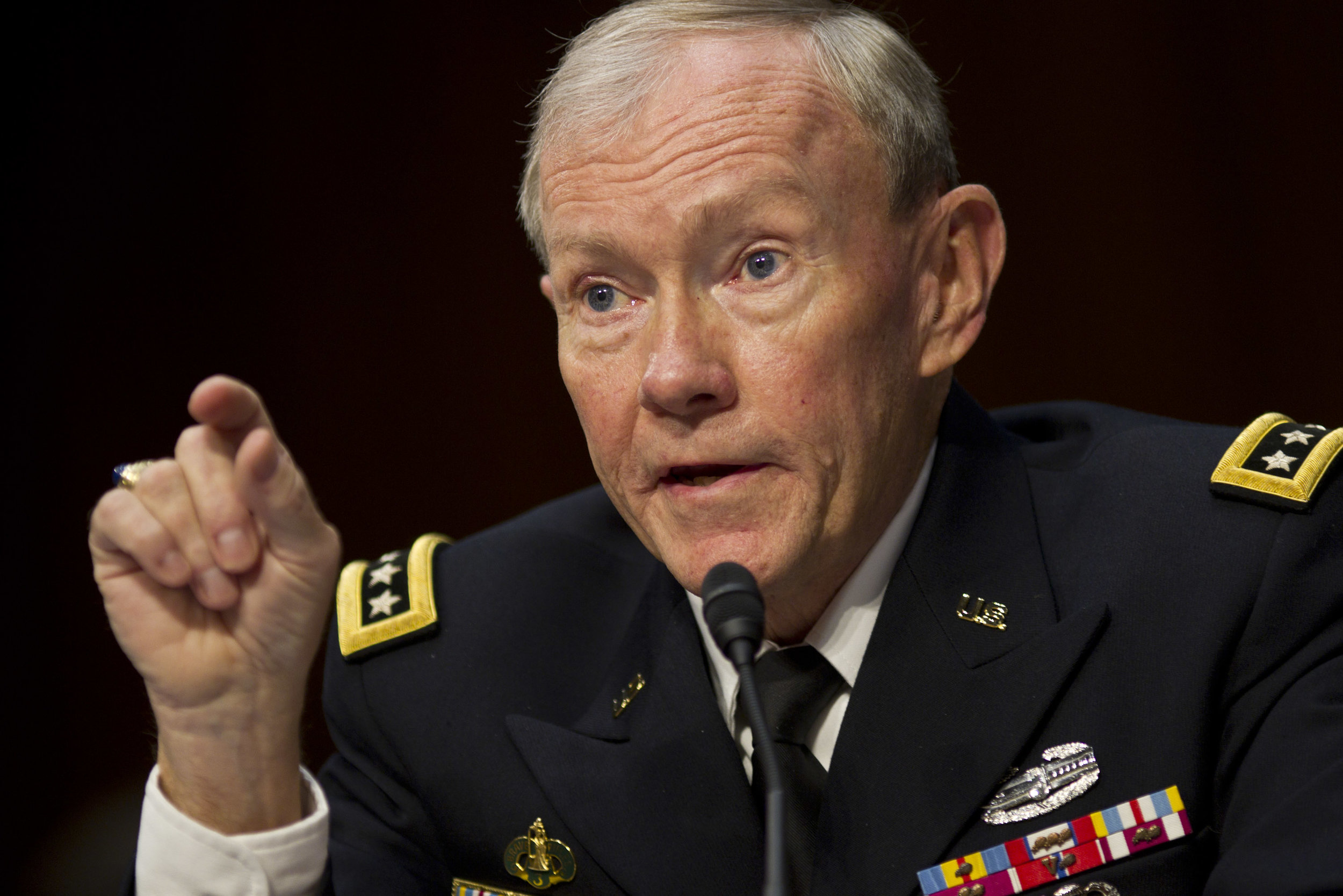 Gen. Martin Dempsey, as Chairman of the Joint Chiefs of Staff.(DOD photo)