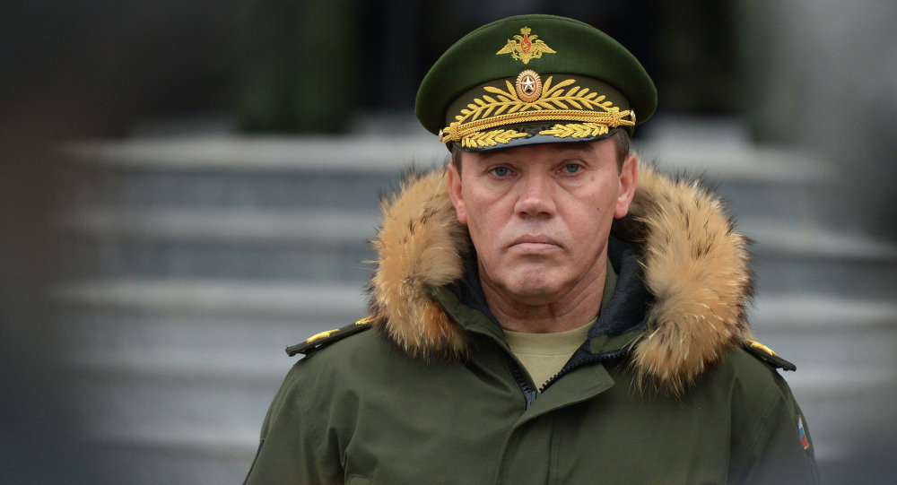 General Valery Gerasimov (Sputnik/Evgeny Biyatov)