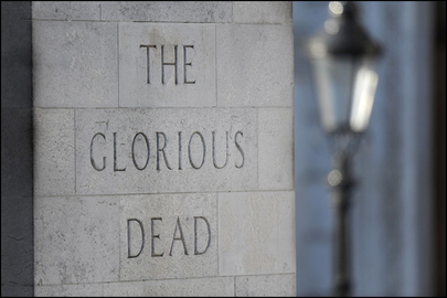 The Glorious Dead Inscription on the Cenotaph in London (Defence Images)