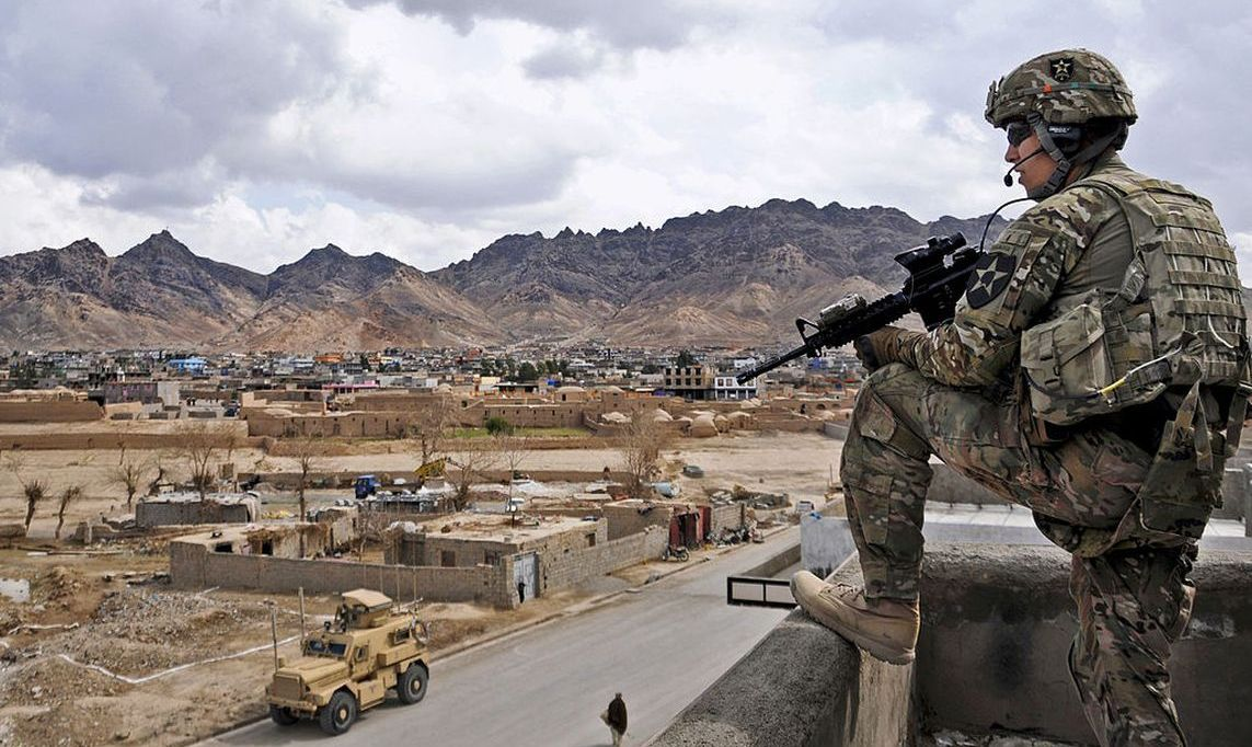 U.S. Soldier in Afghanistan (U.S. Government Photo)