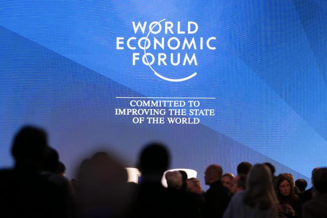 The opening of the World Economic Forum 2017. (Eric Bridiers)