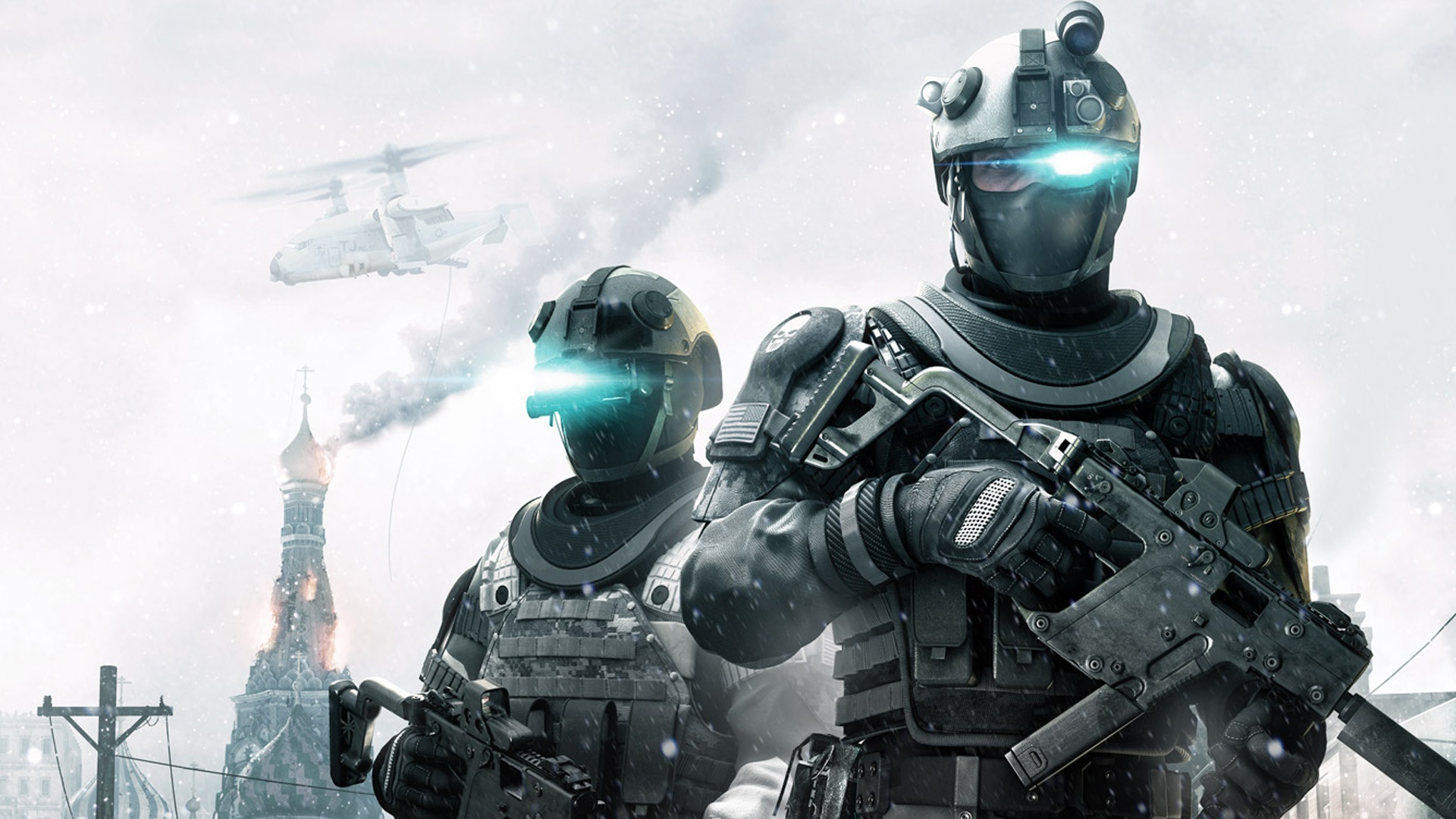 Genetically Modified Humans For A Future Super Soldier Army (Ghost Recon: Future Soldier)