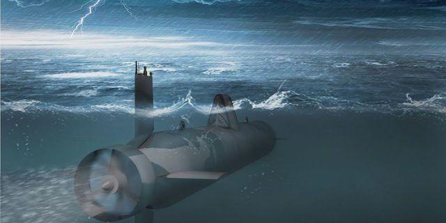 Artist's concept of the Surrogat drone. (Popular Mechanics)