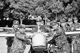 """Ju Xiaochengm the UAV """"Golden Launcher"""""""