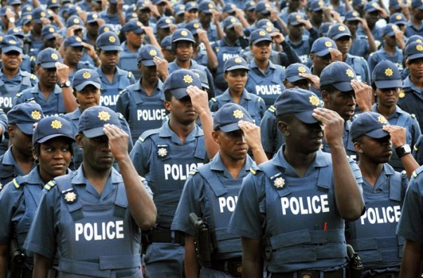 Members of the South African Police Services | Morapedi Mashashe