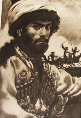 An illustration of Hadji Murad