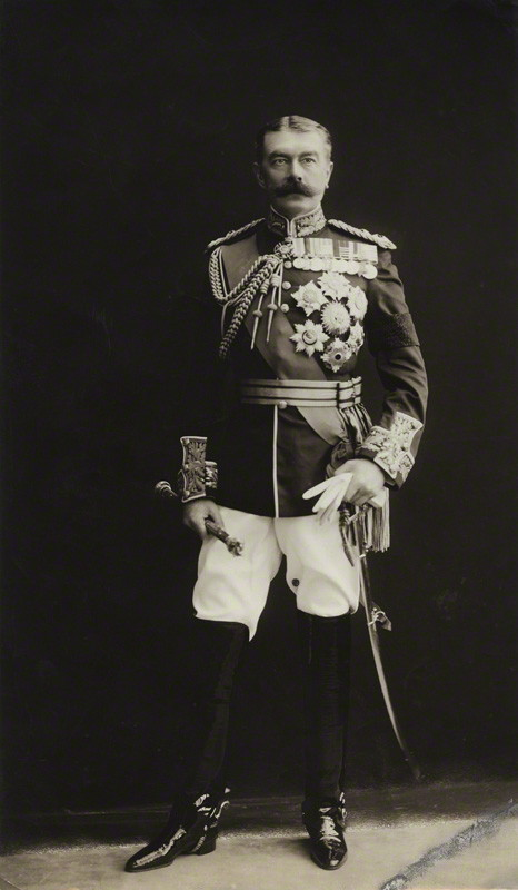 Field Marshal The Right Honorable Horatio Herbert Kitchener, 1st Earl Kitchener, KG, KP, GCB, OM, GCSI, GCMG, GCIE, PC (Wikimedia Commons)