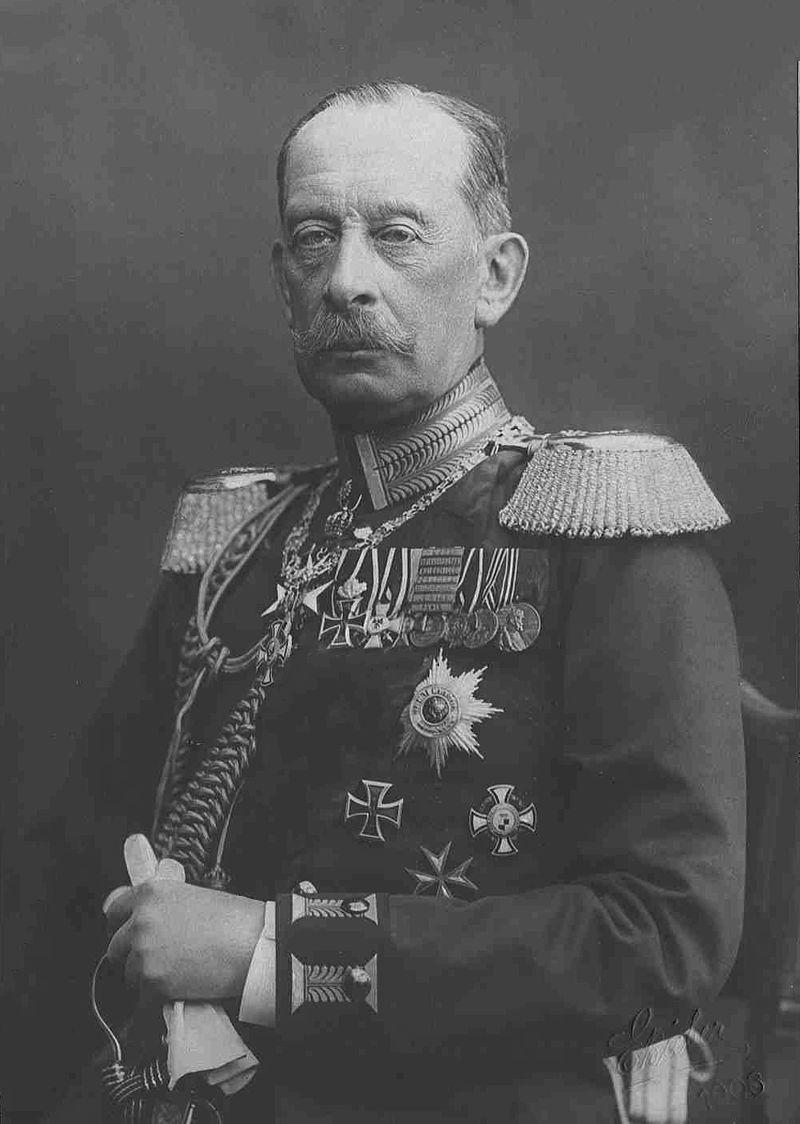 Count Alfred von Schlieffen in 1906 (Wikimedia)