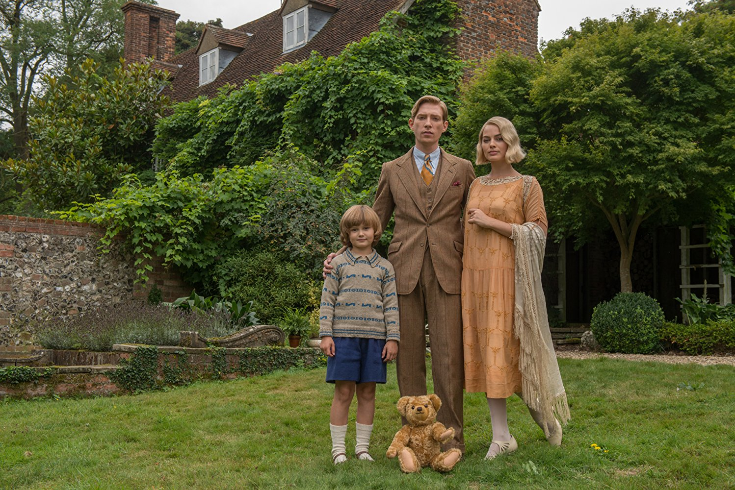 Goodbye Christopher Robin  (2017) with Domhall Gleeson, Margot Robbie, and Will Tilston. (IMDB)