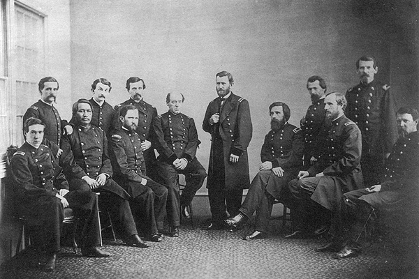 General Ulysses S. Grant and his Staff (Smithsonian National Portrait Gallery)