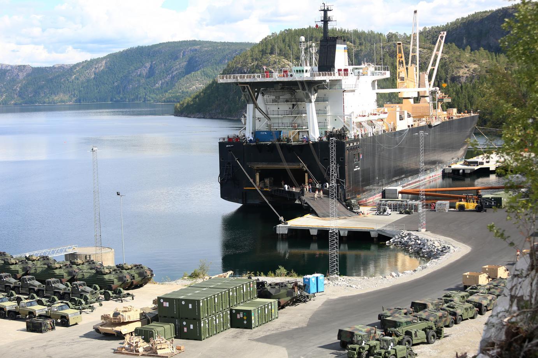 Marine Corps Prepositioning Program, Norway (USMC Photo)