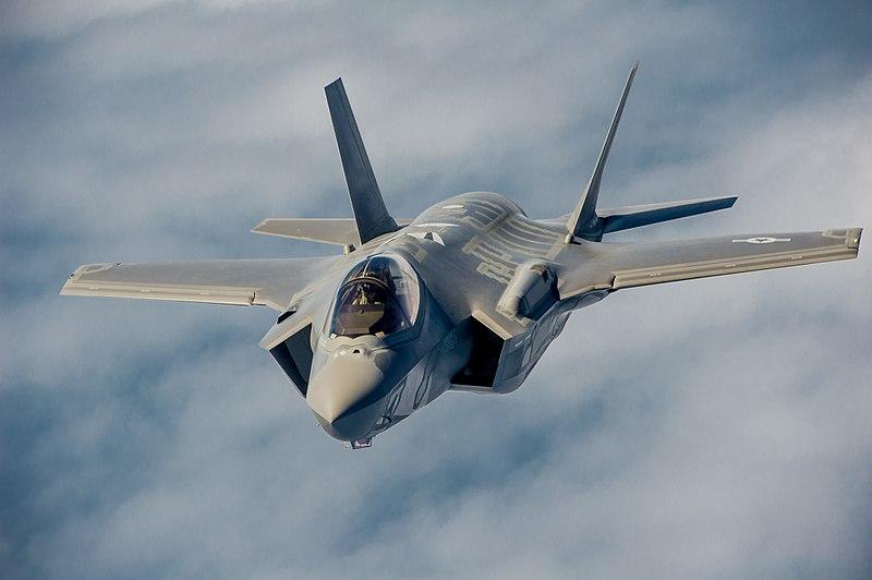 U.S. Air Force F-35A. (MSgt John Nimmo Sr/USAF Photo)