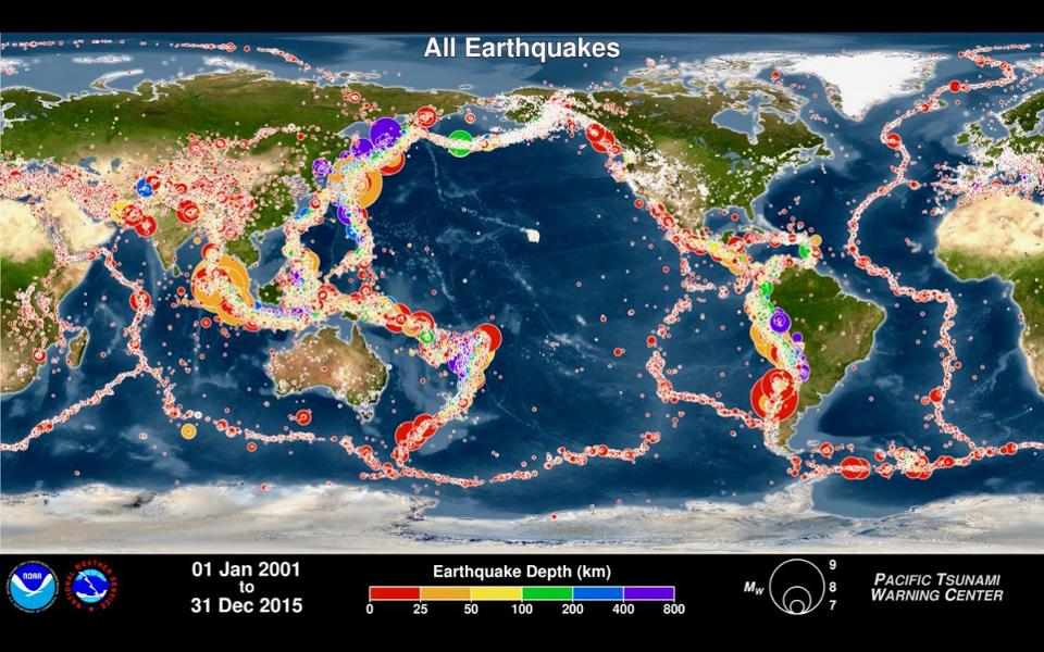 South Pacific Earthquakes [19]