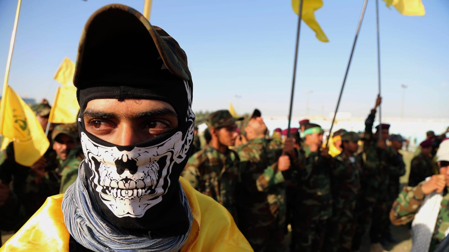Shia militias in Iraq (Karim Kadim/AP)