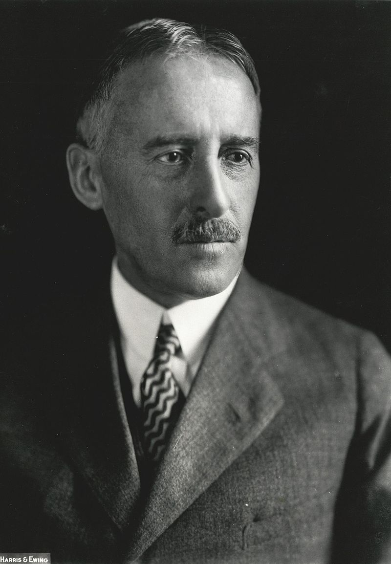 Henry L. Stimson, former Secretary of War and State. (Wikimedia)
