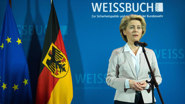German Defense Minister Ursula von der Leyen in 2015. (DPA)