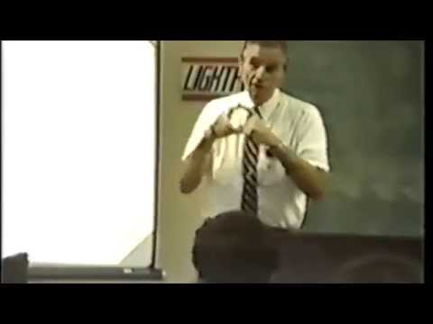 "John Boyd delivering a lecture on ""Patterns of Conflict"" (YouTube)"