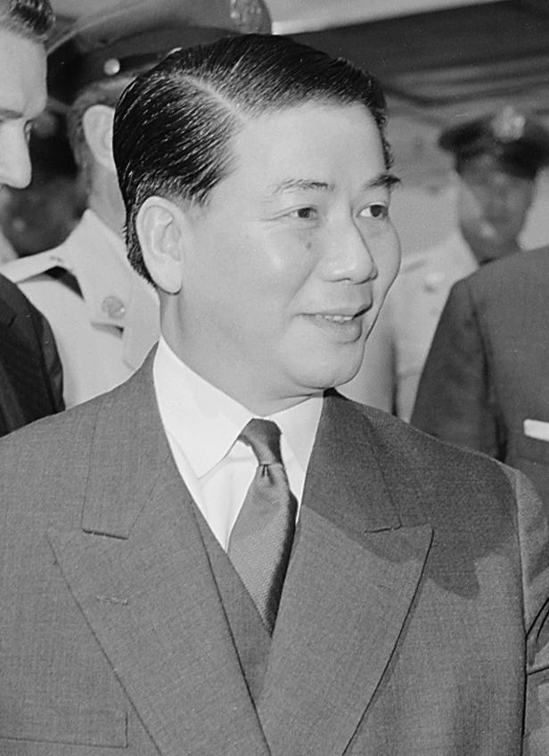 South Vietnamese President Ngo Dinh Diem in 1957. (Wikimedia)