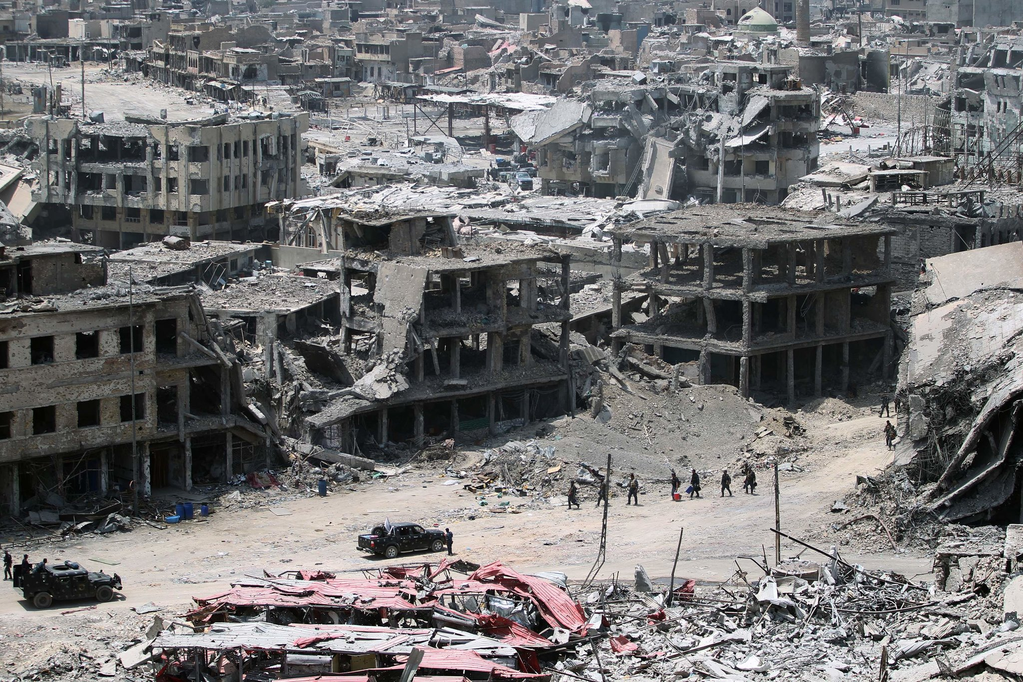 Mosul's old city in July 2017. (Ahmad Al-Rubaye/AFP/Getty Images)