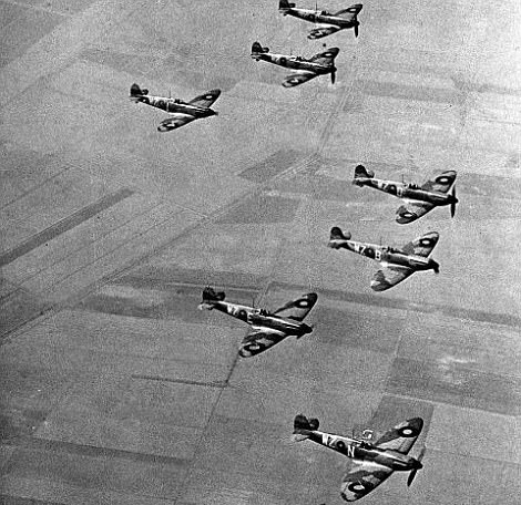 British Aircraft During the Battle of Britain (PA)