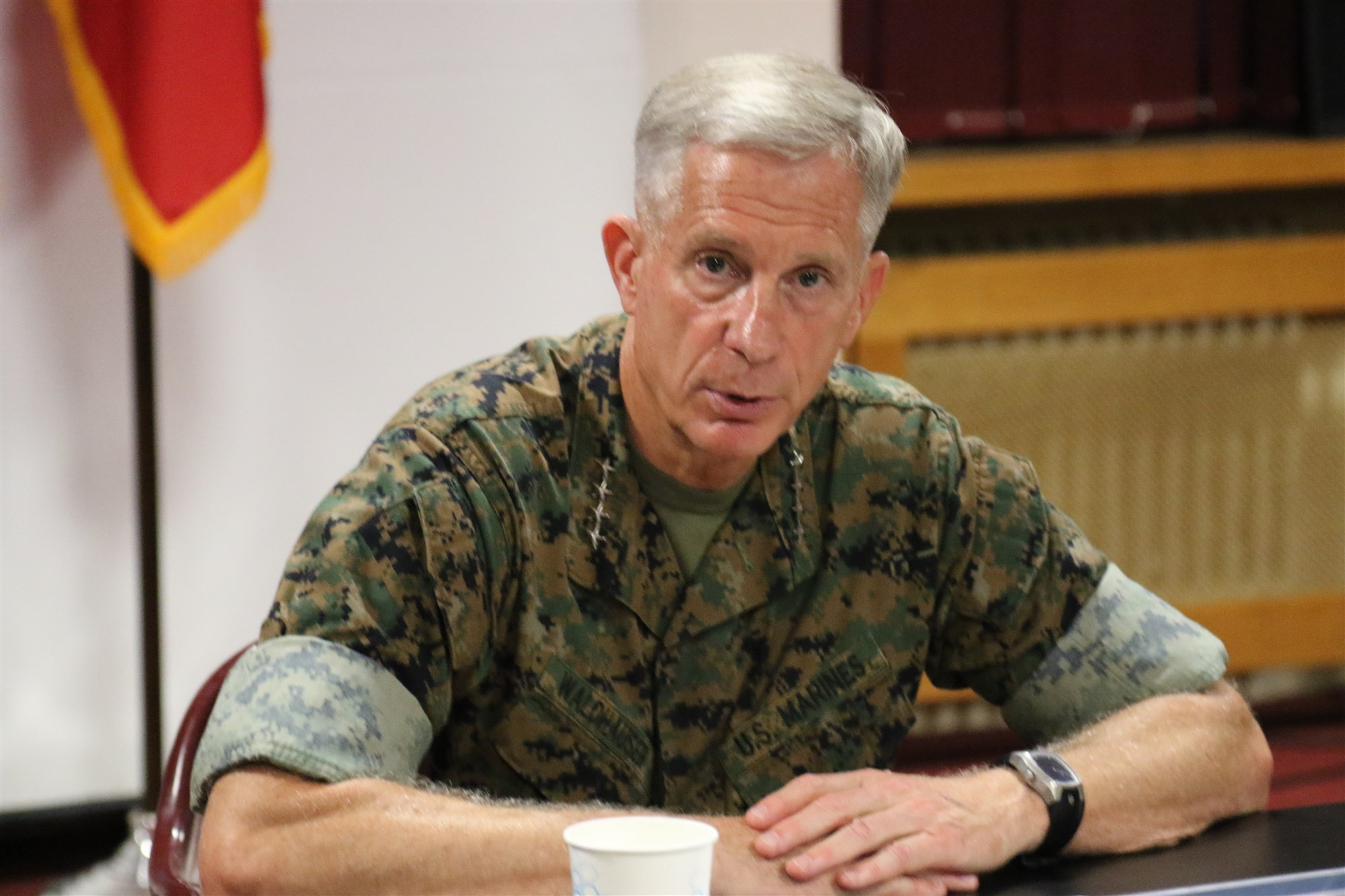General Thomas D. Waldhauser, Commander of USAFRICOM (Nathan Herring/US Army Photo)