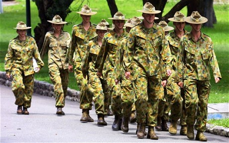 Australia has moved ton include more women in its military (Rob Griffith/AP)