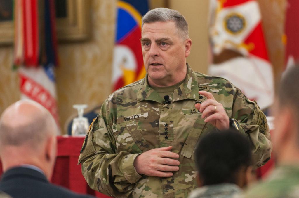 General Mark Milley, U.S. Army Chief of Staff (Timothy Hale/U.S. Army Photo)